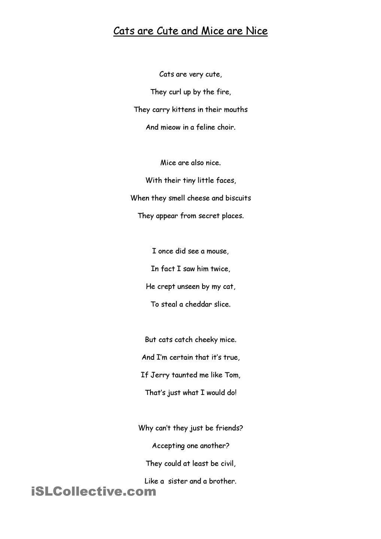 medium resolution of Hard and Soft c poems   Word sorts