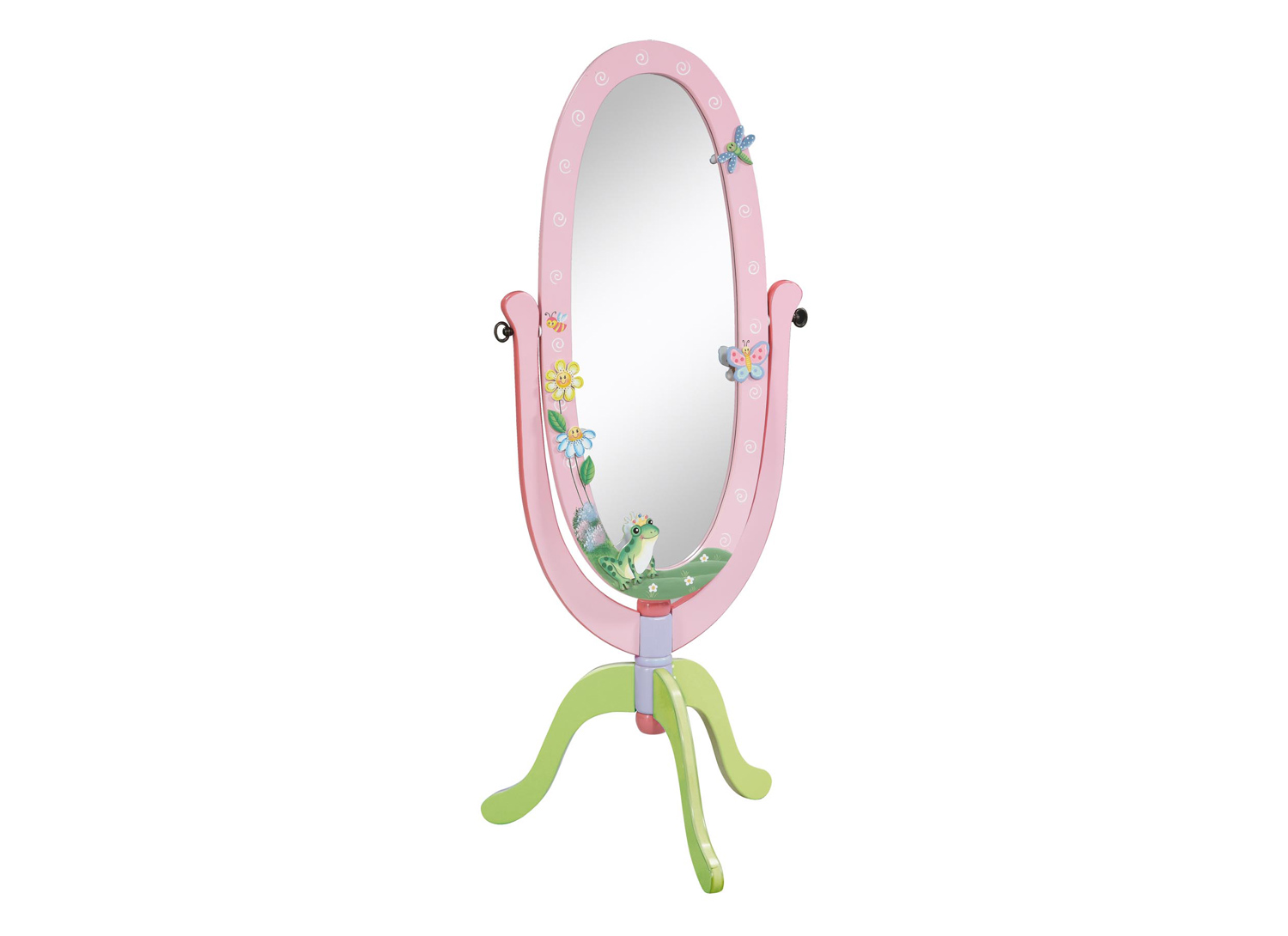 A truly adorable mirror to bring your child's bedroom to life with fun and magic.
