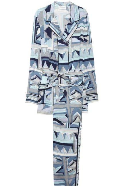 Vintage 1940s Silk Chinese Pajamas Shirt Pants Dragon