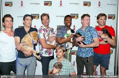 Celebs Step Up For Pets at 2018 Broadway Barks American