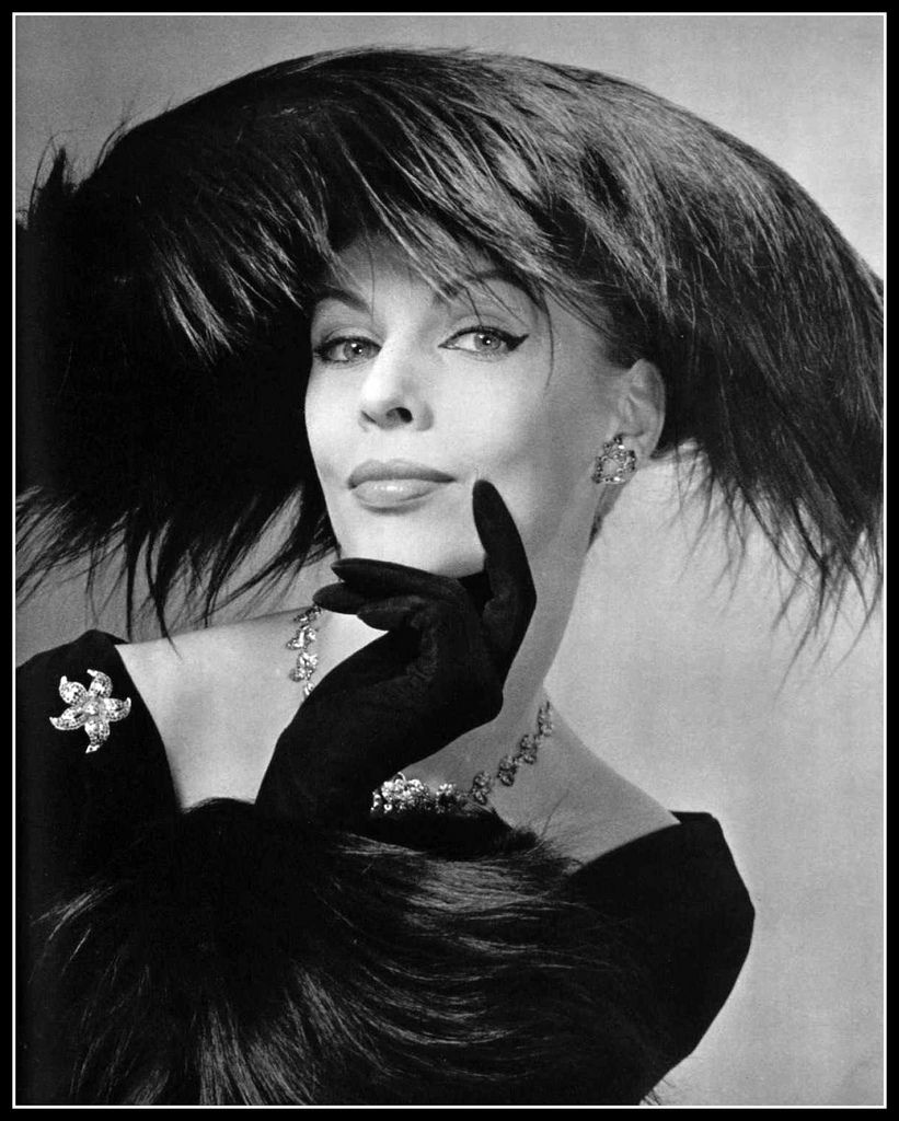 Dorothy In Feathered Hat By Albouy (Millinery), Paris 1956
