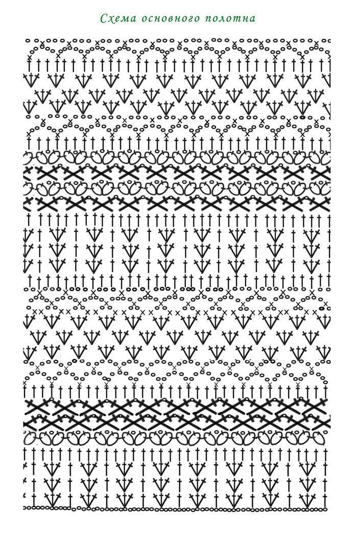 Настя Найдёнова   patrones y puntadas   Pinterest   Häkelmuster ...