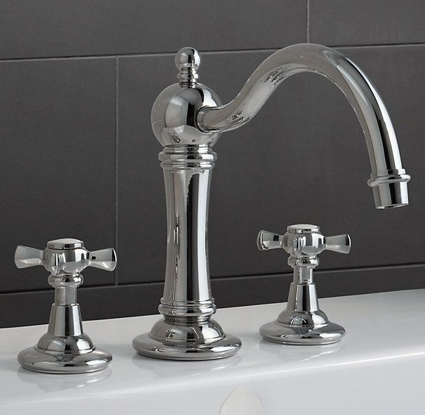 Old Fashioned Bathroom Faucets #30: 1000+ Images About Torneiras On Pinterest | Traditional Bathroom, Widespread Bathroom Faucet And Polished Nickel