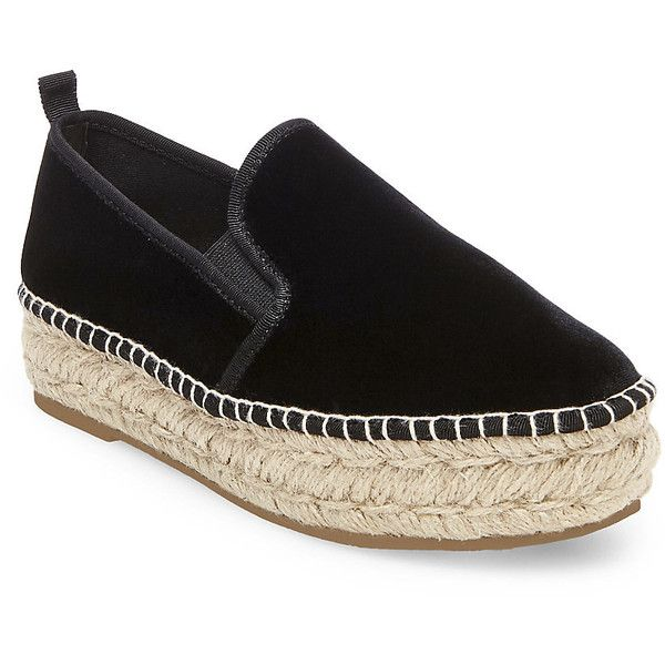 30b3a059212 Steve Madden Phoebe-V Slip On Sneakers ( 80) ❤ liked on Polyvore featuring  shoes