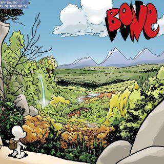 "Jeff Smith's ""Bone"" saga. Best. Graphic. Novel. Ever."