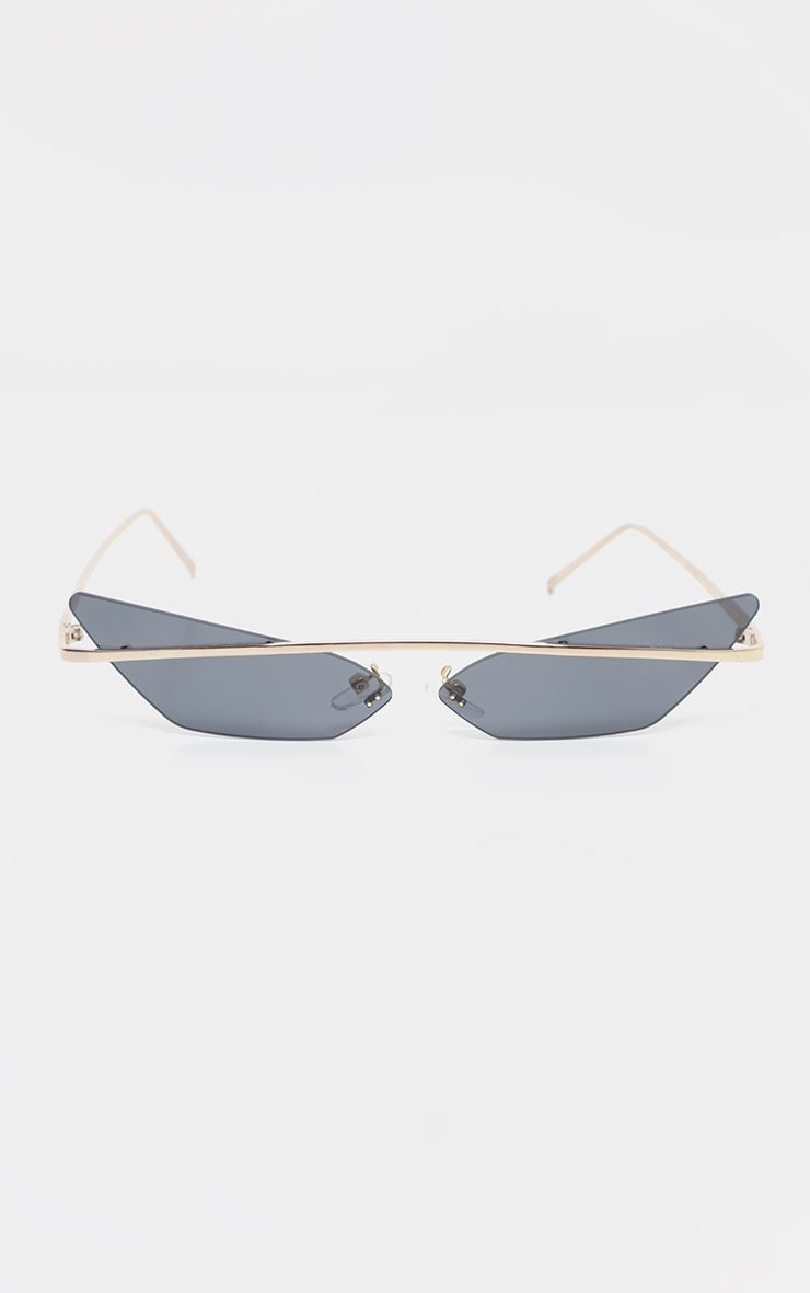 aa5fe3559dc4 Black Lens Brow Bar Cat Eye Sunglasses in 2019 | Products | Cat eye ...