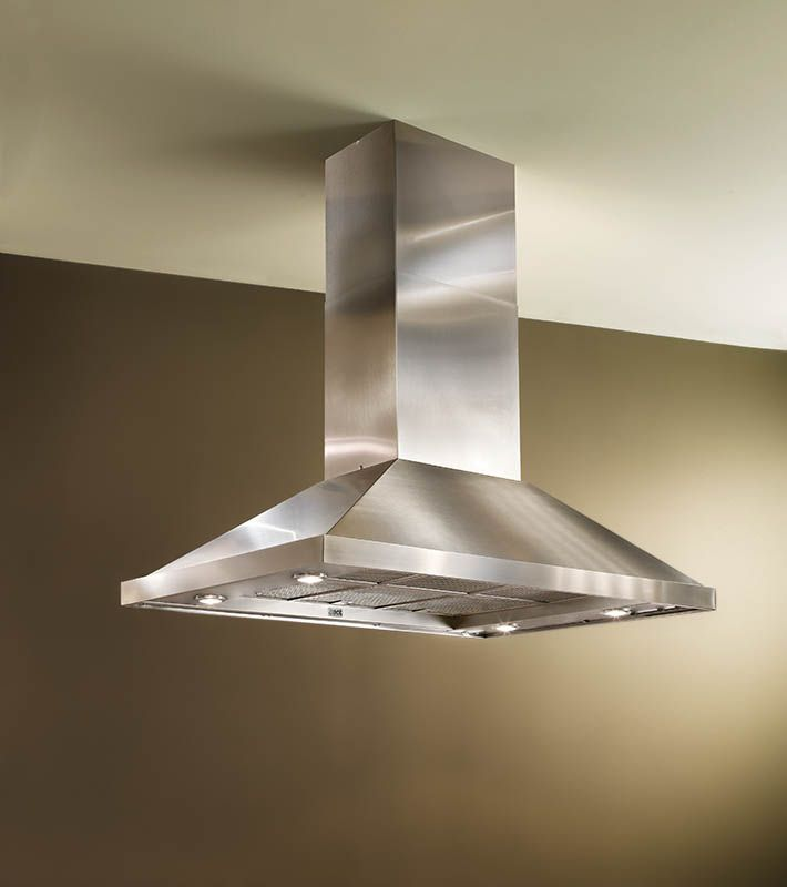 The Best Is42 Range Hood Has A Free Hanging Design That Melds Magnificent Proportions And Distinctiv Contemporary Kitchen Kitchen Range Hood Island Range Hood