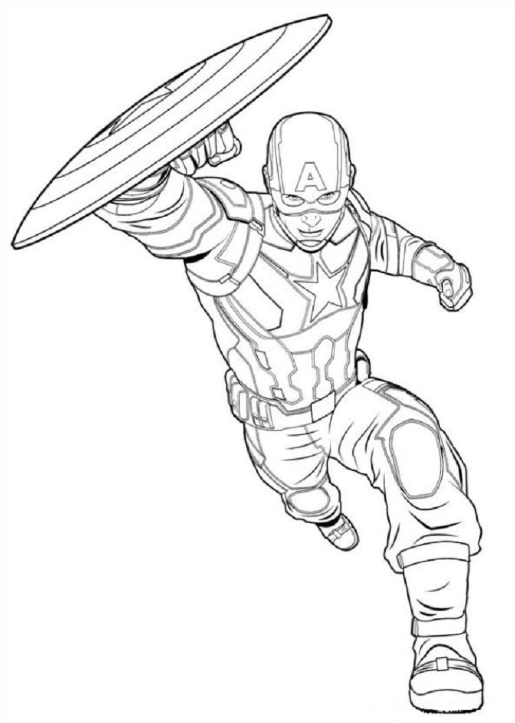 - Captain America Coloring Pages Civil War Avengers Coloring Pages, Captain  America Coloring Pages, Avengers Coloring