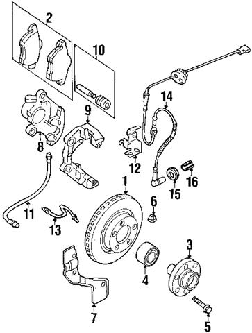Audi-S4-Front-Brake-Components-Parts-Diagram | Audi s4, Audi, Front brakes | Audi Brakes Diagram |  | Pinterest