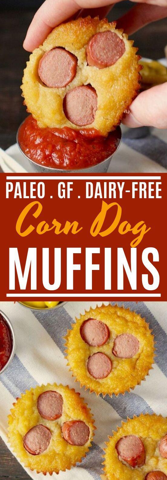 Paleo Corn Dog Muffins #paleo #breakfast #insurancequotes