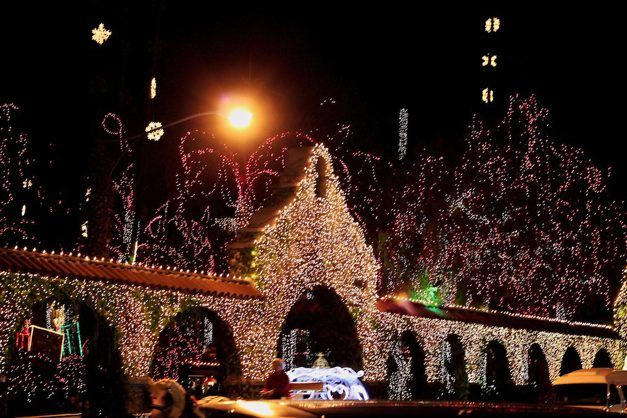 & Mission Inn Festival of Lights in Riverside CA azcodes.com