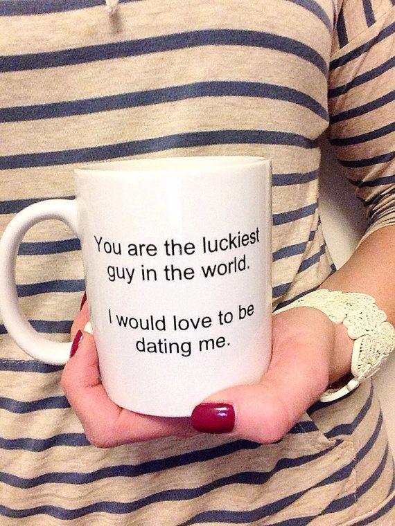 Valentine S Gift For Him Funny Boyfriend Idea Unique Coffee Mug