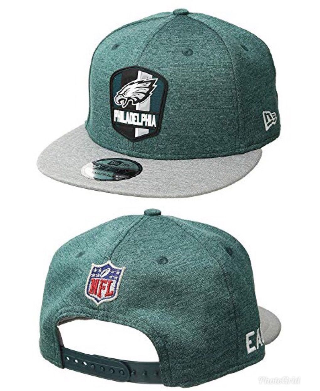 aca0073c558 Move the chains with New Era® and the 9Fifty Official Sideline Away  Snapback - Philadelphia Eagles cap.