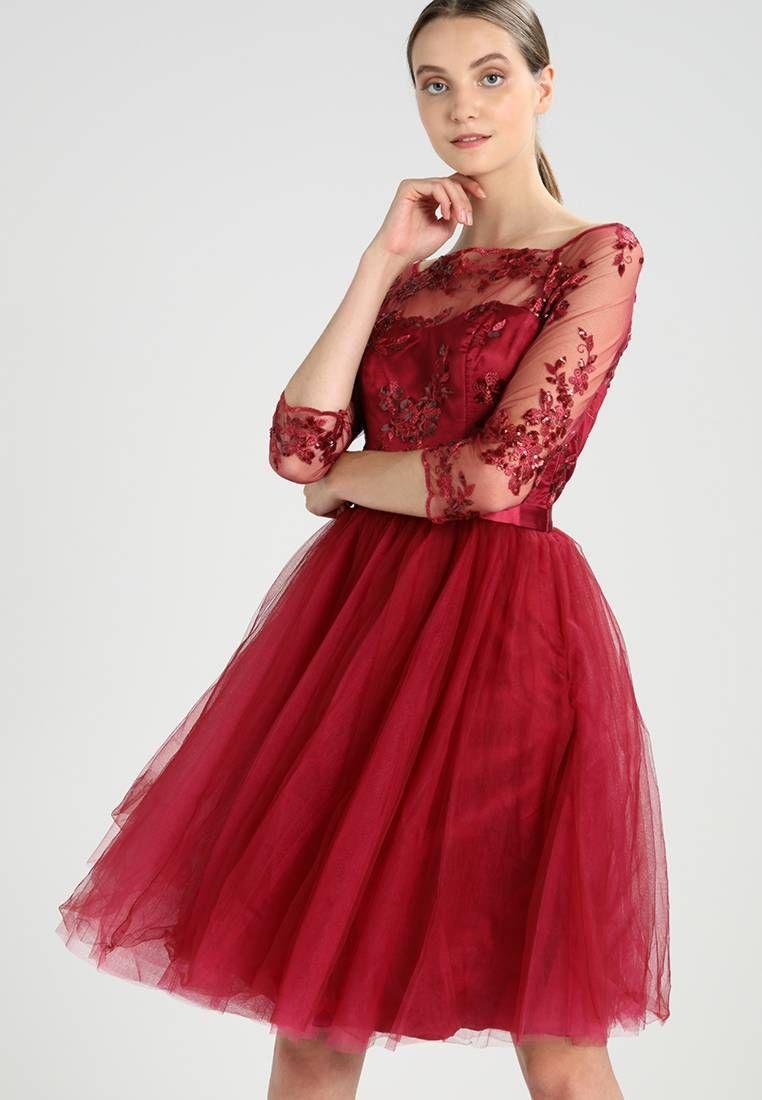 Chi Chi London. SHEENA - Cocktailkleid/festliches Kleid - berry ...