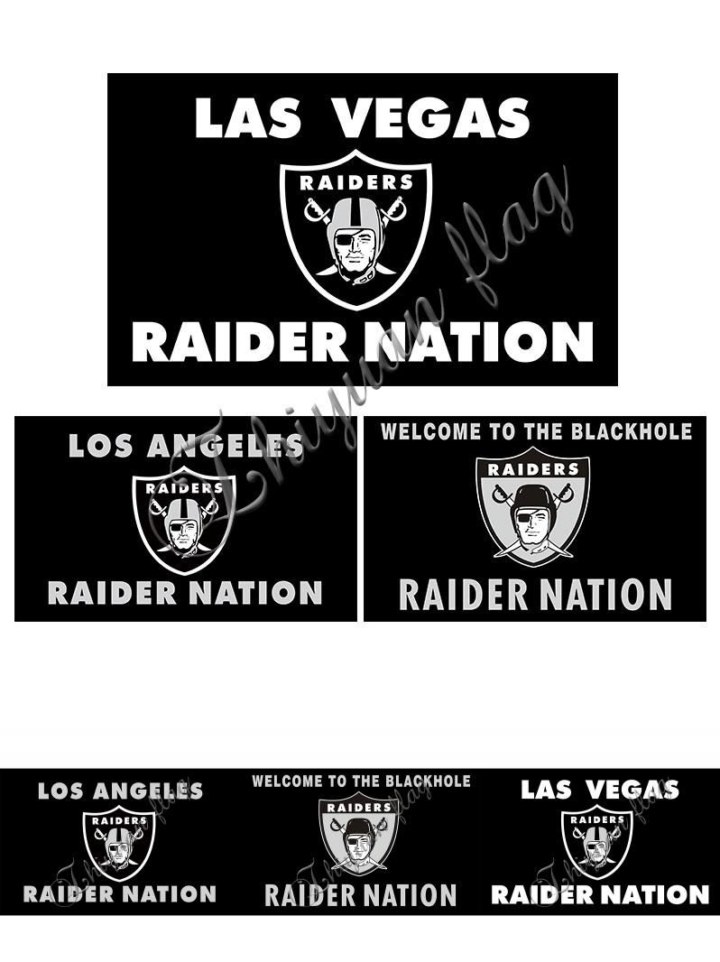 Visit To Buy Las Vegas Raiders Los Angeles Raider Nation Team Banner Digital Print Custom Black Oakland Raiders Raiders Los Angeles Team Banner Raiders Flag