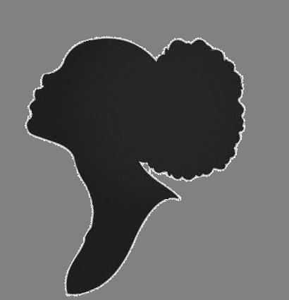 Found On Bing From Www Pinterest Fr Black Woman Silhouette Black Girl Art Afro Art