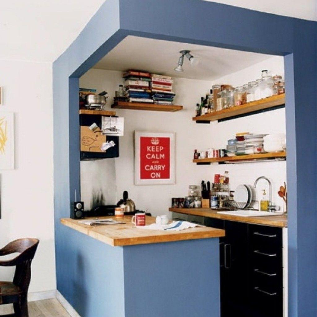 cocina azul construccin en seco ideas para reformar tu cocina sin hacer obras