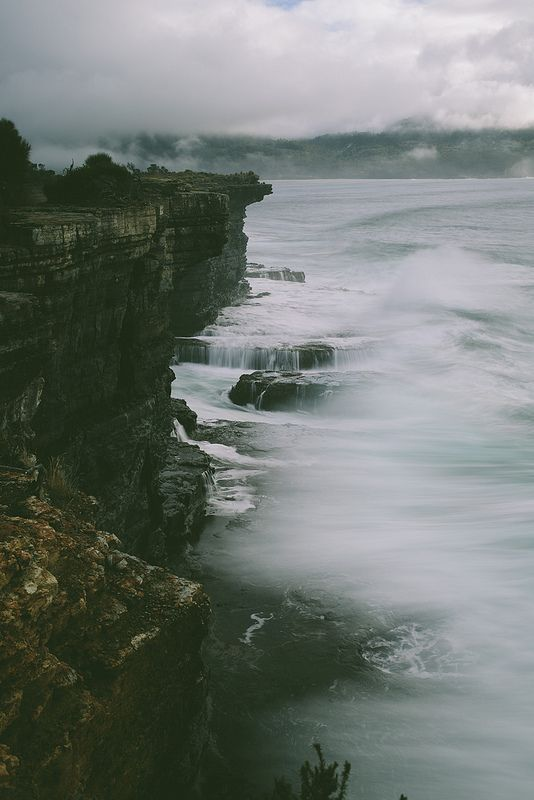 eaglehawk neck, australia #nature #seascapes