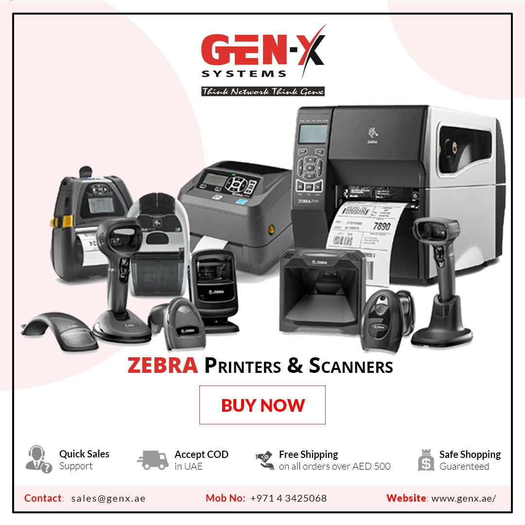 Buy Printer Buy Zebra Printers And Scanners In Dubai Uae Zebra Printer Zebra Printer