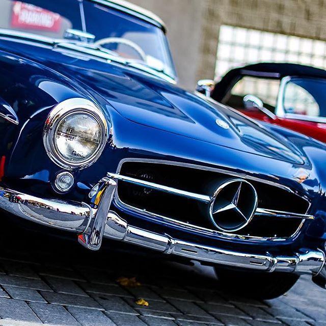 Mercedes Benz #190SL at Collector Car Showcase (CCS) Oyster Bay, NY.   ©Stephen Landau / #BruceAdams190SL