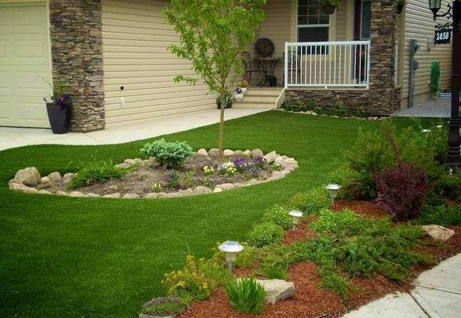 como fazer um jardim simples e barato no quintal garden
