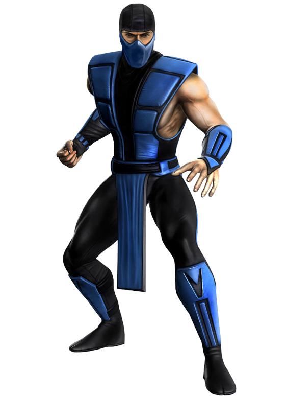 Sub Zero Classic Mortal Kombat Personagens Van Damme