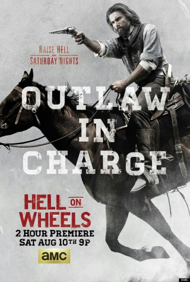 Hell On Wheels New Season Poster