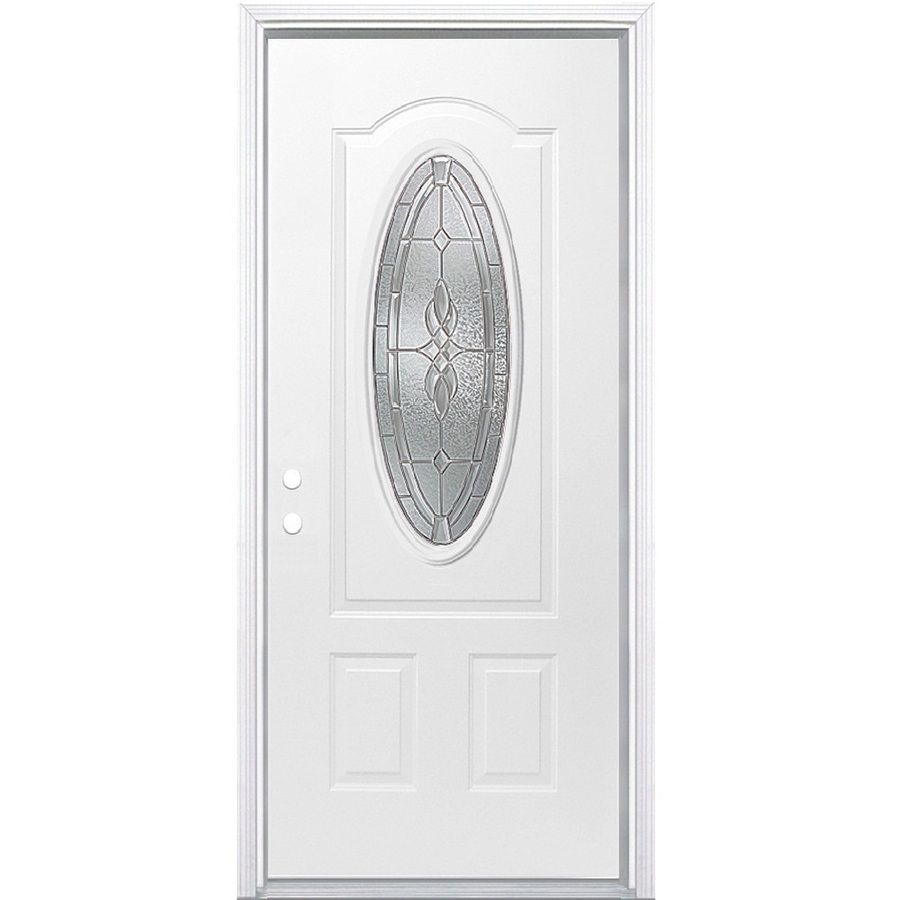 2 Panel Steel Entry Door Stanley Exterior Doors Steel