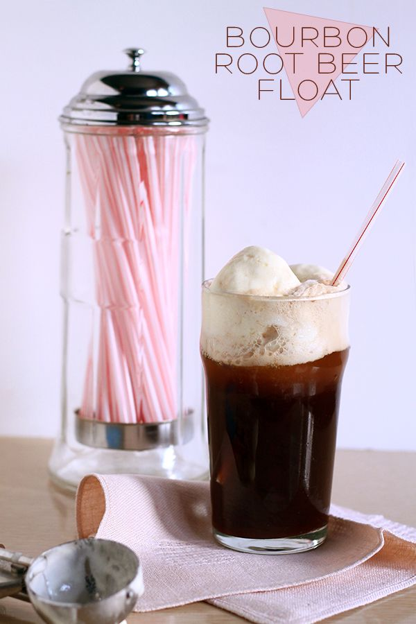Bourbon Root Beer Float | Squirrelly Minds