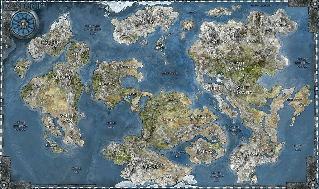 Pin by adrian louw on maps pinterest fantasy map rpg and map iron grip world map the long awaited iron grip world map makes its debut today placing the landscape of kathos within its proper geographi gumiabroncs Choice Image
