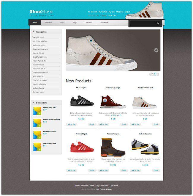 27 Free Dreamweaver Templates   Template and Web design inspiration