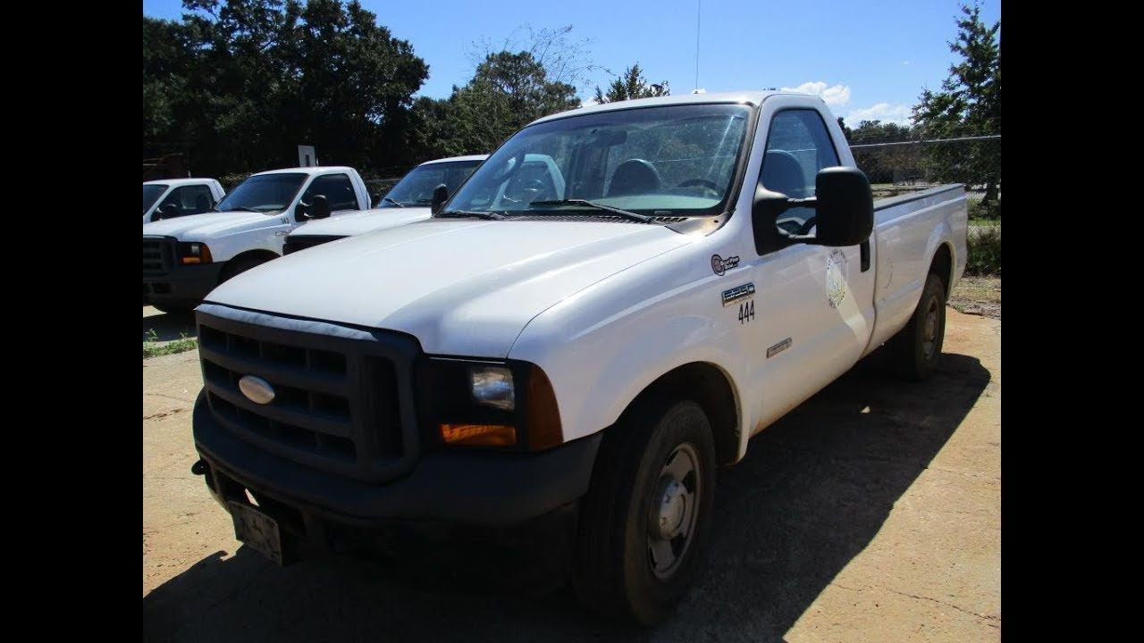 Public Online Auction 2006 Ford F 250 Xl Pickup Truck Pickup Trucks F250 Online Auctions