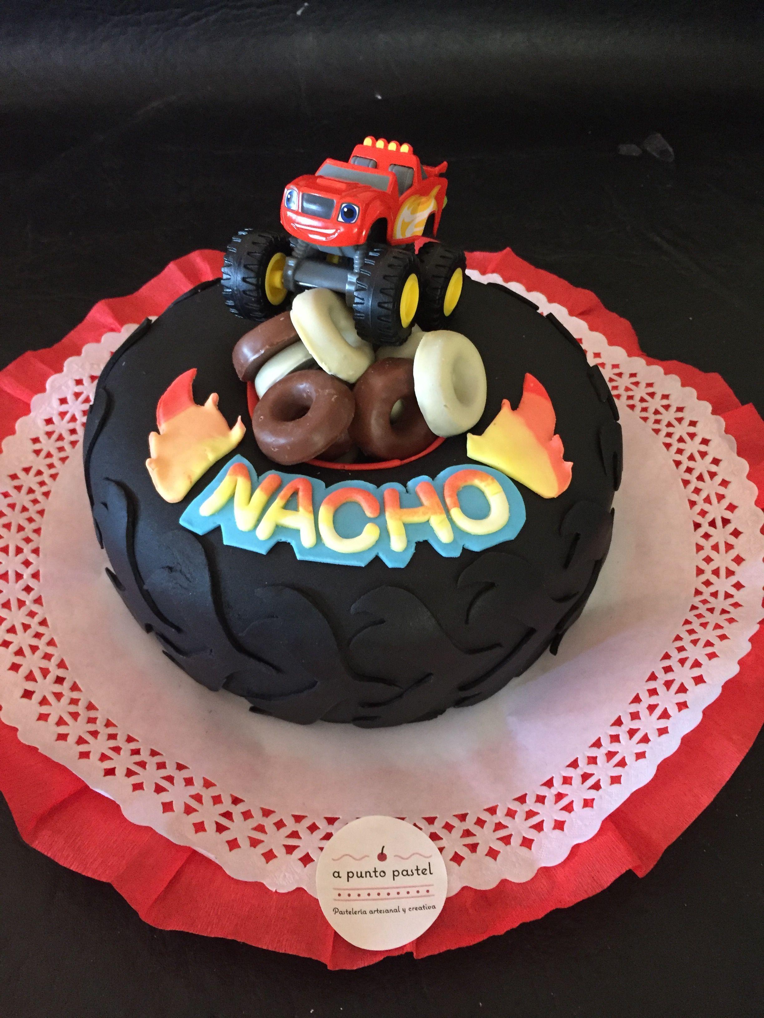 Torta Blaze And The Monster Machines Tortas Decoradas