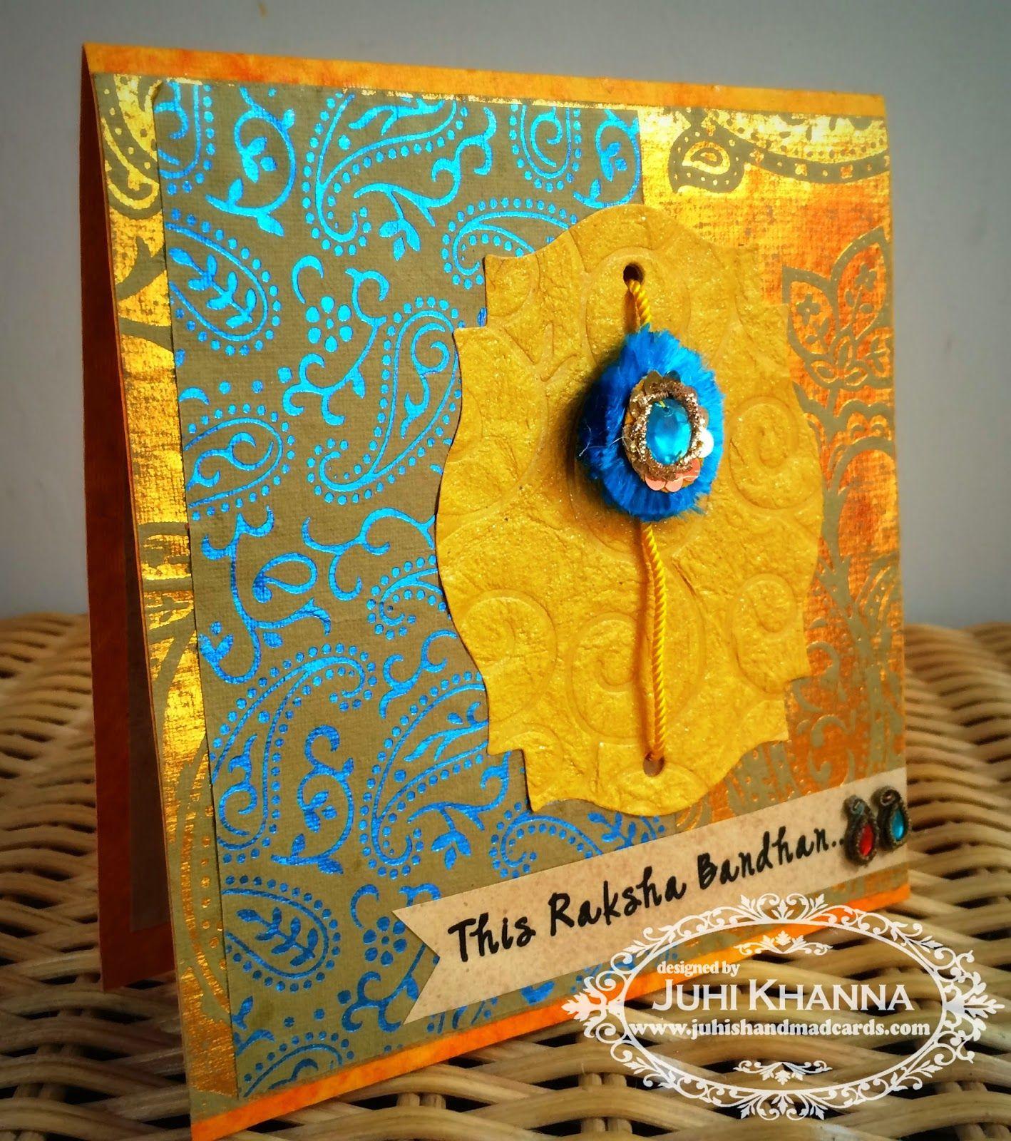 juhi's handmade cards handmade rakhi cards for 2014