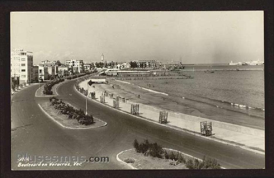 Fotos Del Puerto De Veracruz | fotos antiguas del puerto de veracruz dos postales de lugares ...