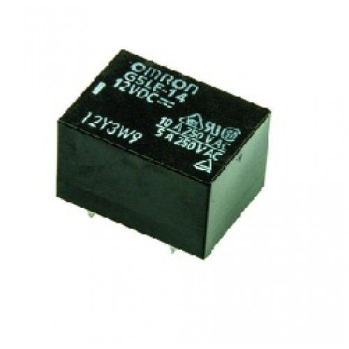 SPDT THT Part # OMRON ELECTRONIC COMPONENTS G5LE-1 12DC RELAY 250VAC 10A