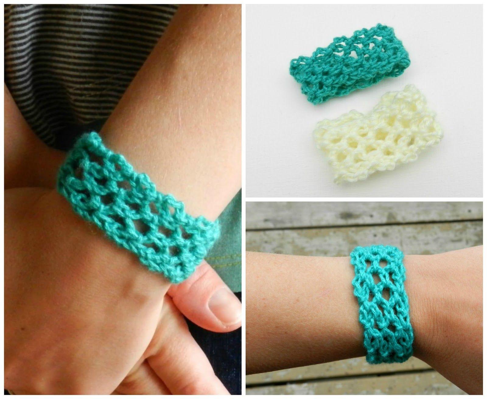 Easy Crochet Lacey Cuff (growcreative)...free pattern! | Craft-y ...