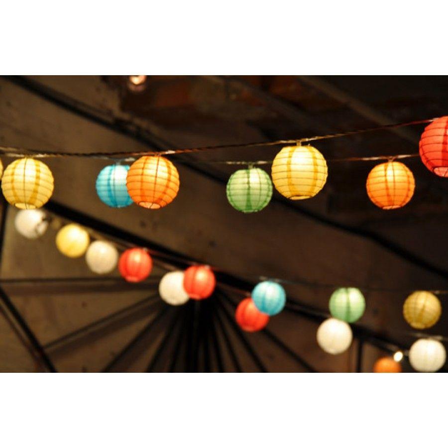 Hanging Lanterns from Chinese Sky Lanterns Hanging