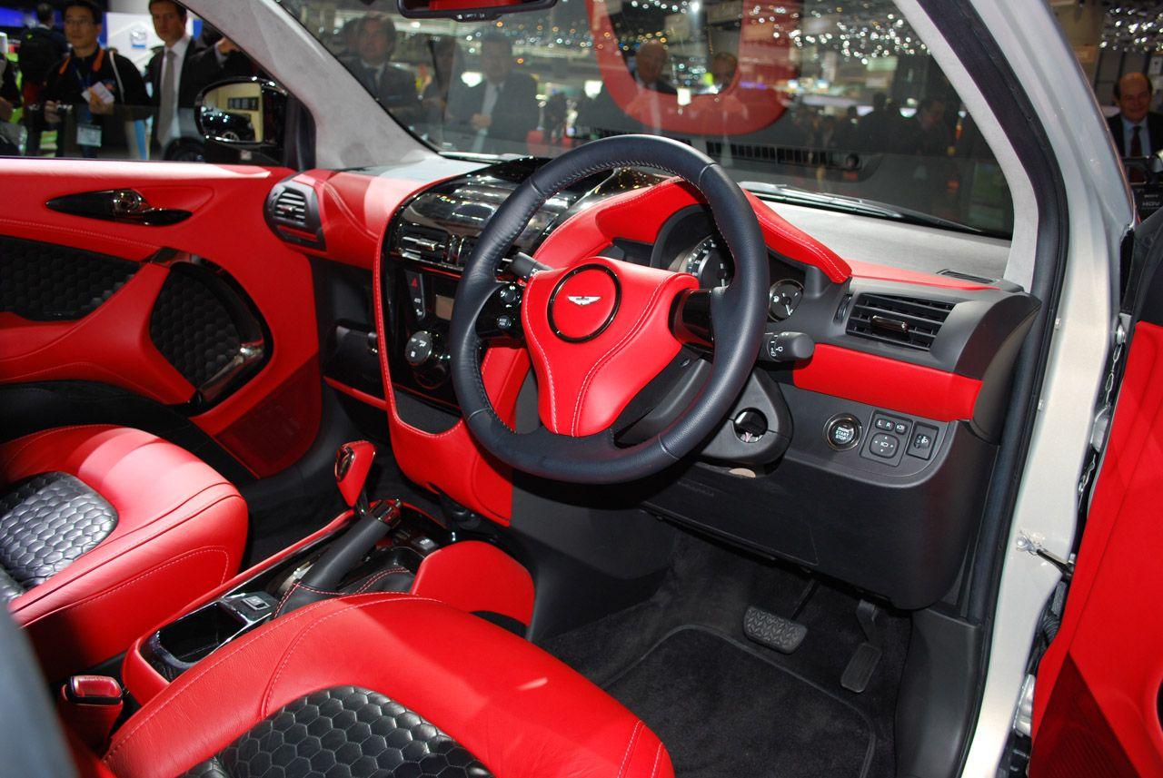 Elegant Aston Martin Cygnet