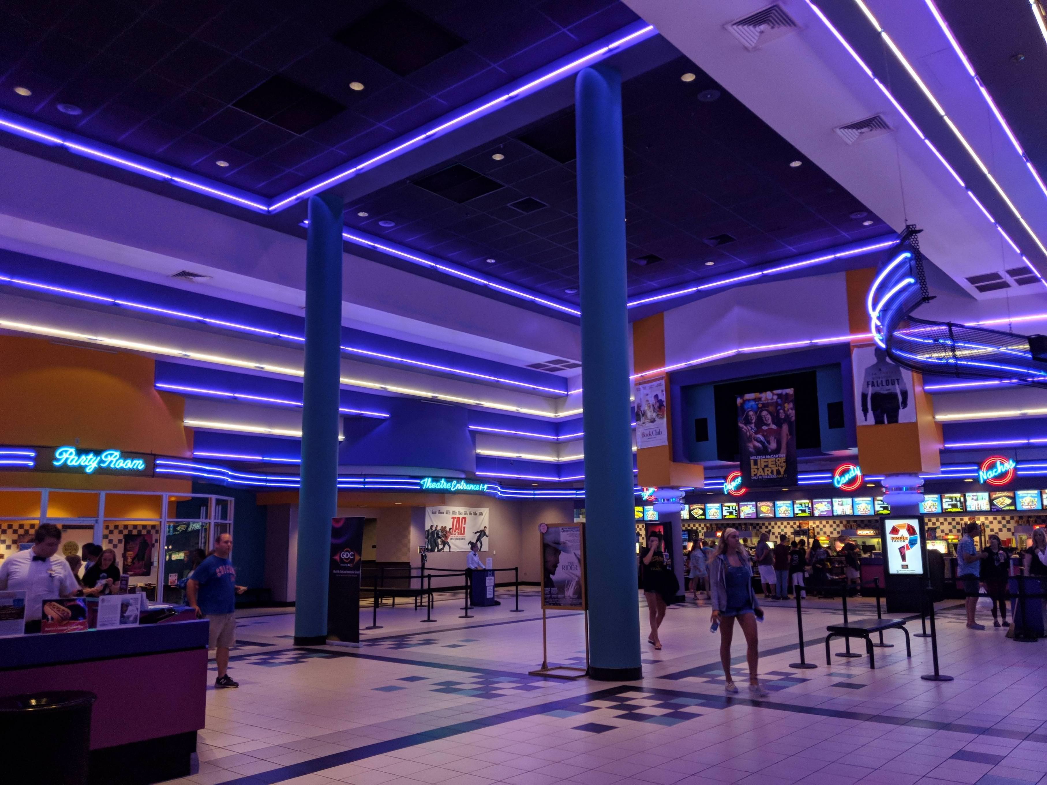 It just occurred to me that this movie theatre im at