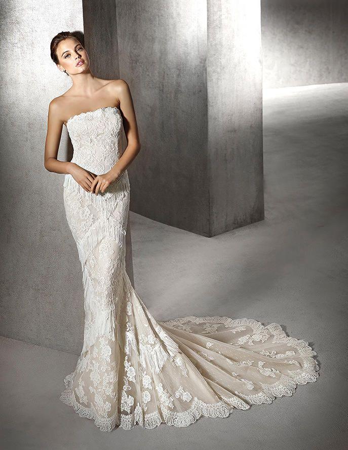 3c08094ad ZURINE, Vestido Novia   Wedding   Vestidos de novia, Vestidos y San ...