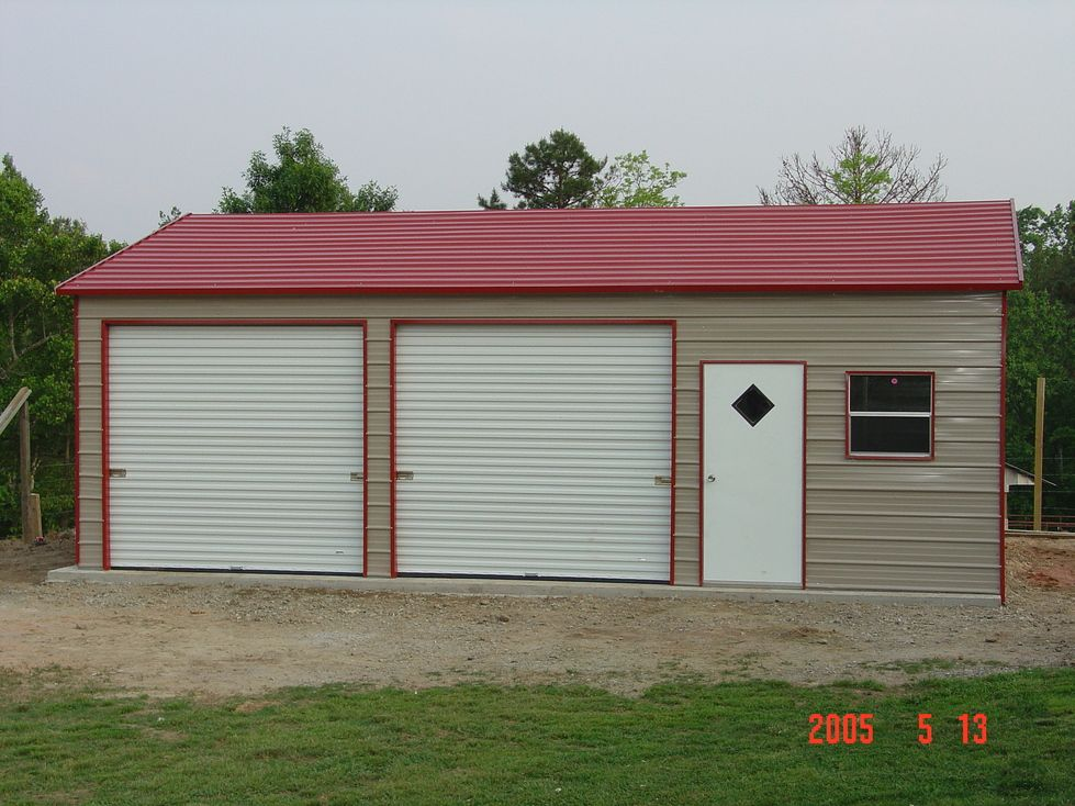 Steel Garages North Carolina NC Steel garage, Garage