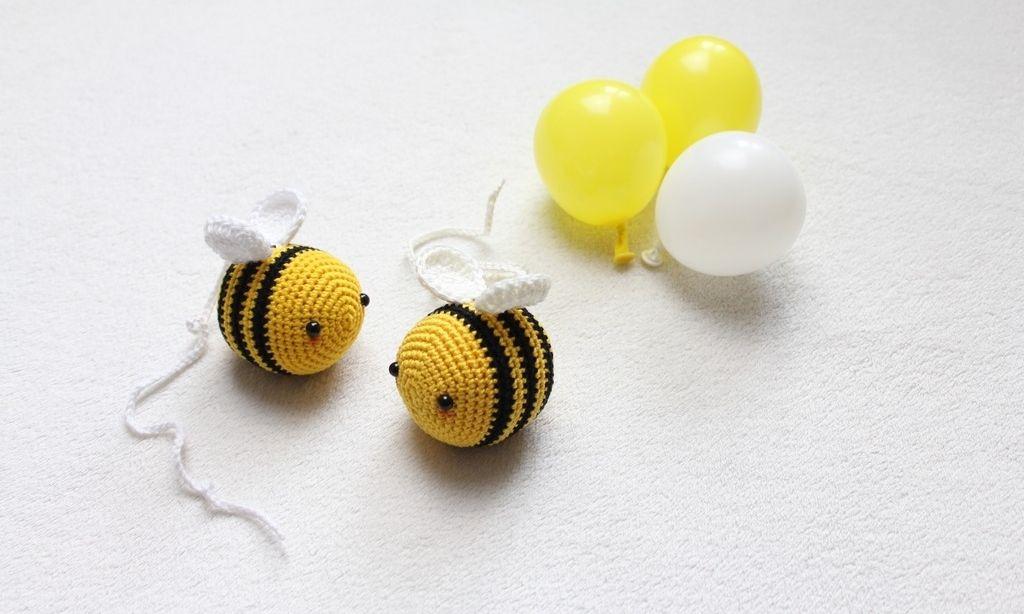 Biene Bee Arı Zuzu Free Amigurumi Pattern In Three Languages