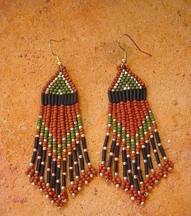 Free Beaded Earring Patterns Native American Yahoo Search Results