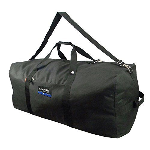 065351e74662 36 inch Large duffel bag. Good for travel and use as cargo bag bike bag  gear bag football bag hockey bag and equipment bag for all sports.