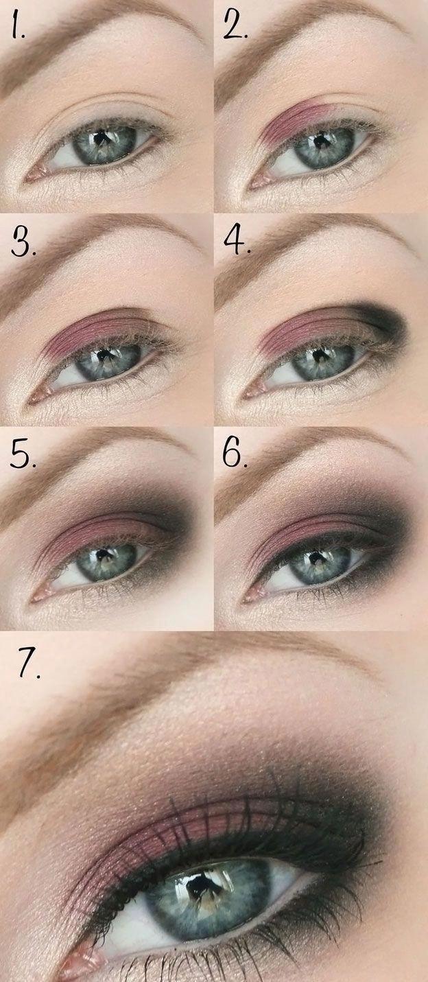Смоки айс для зеленых глаз пошагово фото #Eyemakeup # ...