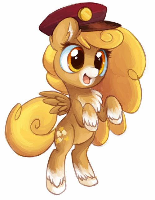 This Pegasus Reminds Me Of My Sister Kenzie Since This Little Filly