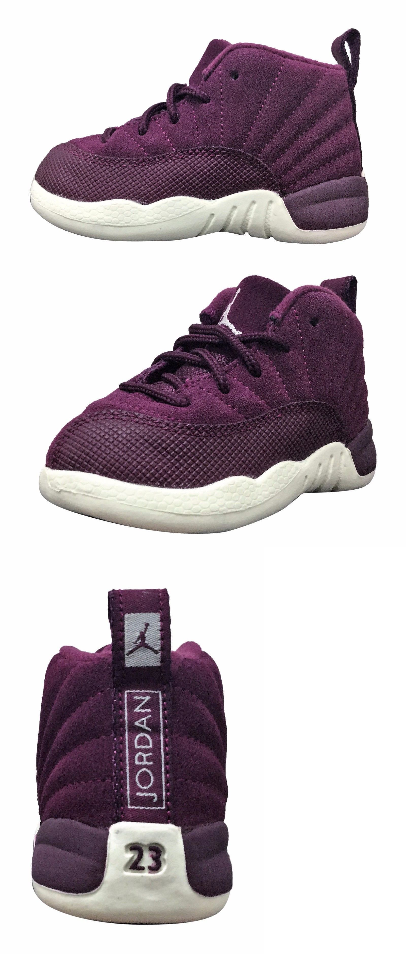 7c542907615e Infant Shoes  New Baby Air Jordan Retro 12 Toddler Shoes (850000-617)  Bordeaux Sail -  BUY IT NOW ONLY   74.99 on eBay!