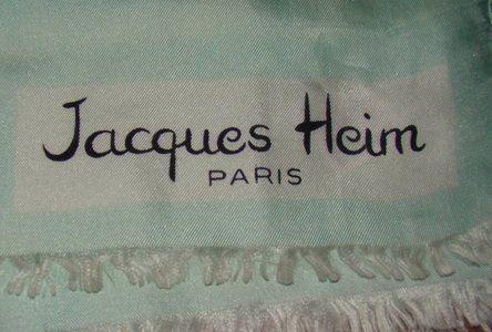 Vintage Fashion Guild Label Resource Heim Jacques Vintage Labels Labels Label Image