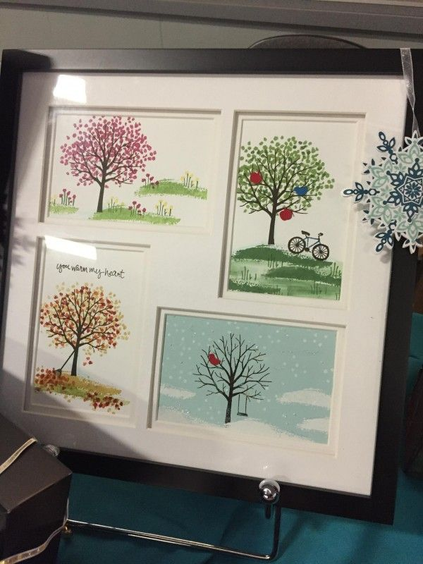 Shelterin Tree Seasons by wagnerjulie - Cards and Paper Crafts at Splitcoaststampers